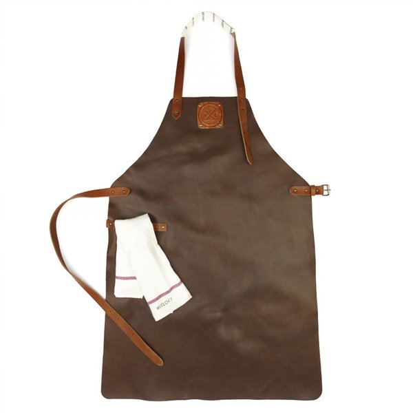 Handcrafted Leather Apron (Cognac)