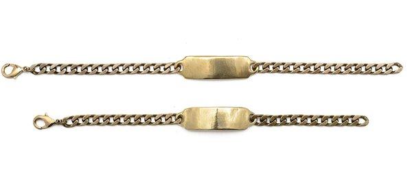 Brass ID Bracelet