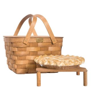 Pie Basket with Tray