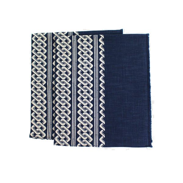 Indigo Cotton Tea Towels (Set of 2)