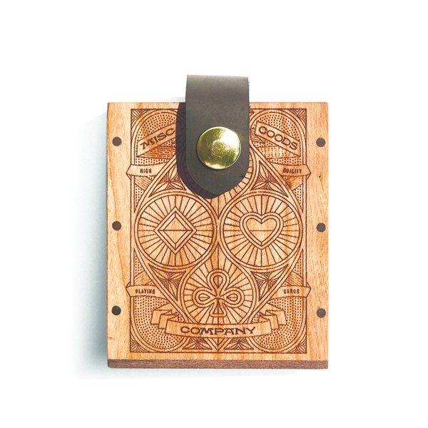 MGCO Wood Hard Game Case
