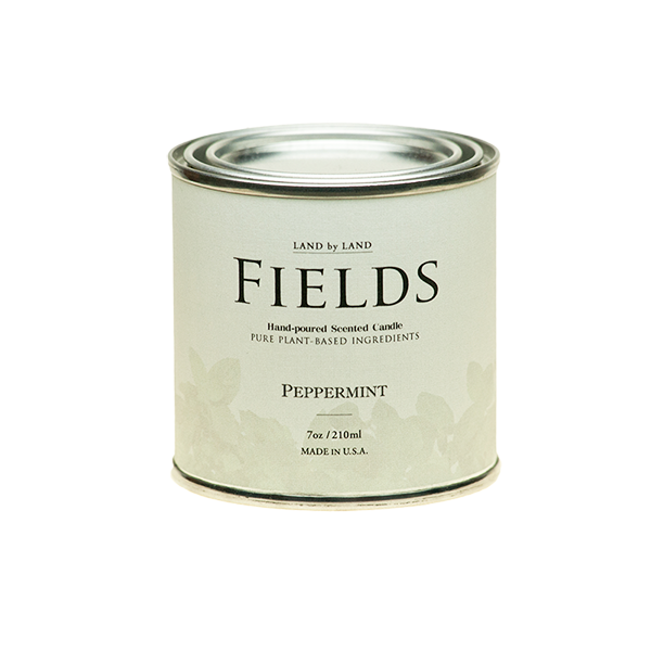 Fields Vegetable Wax Candle