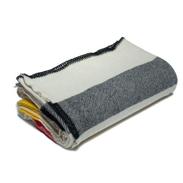 Multi Stripe Wool Blanket