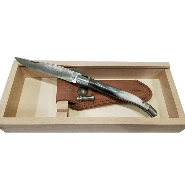Laguiole Pocket Knife with Horn Handle