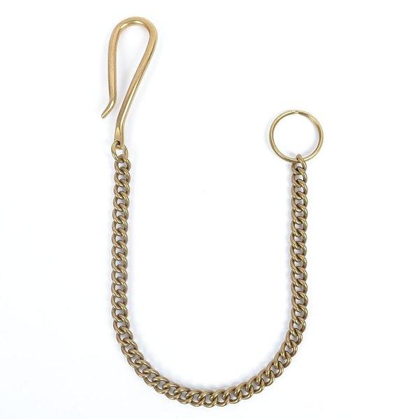 Solid Brass Twist Key Chain