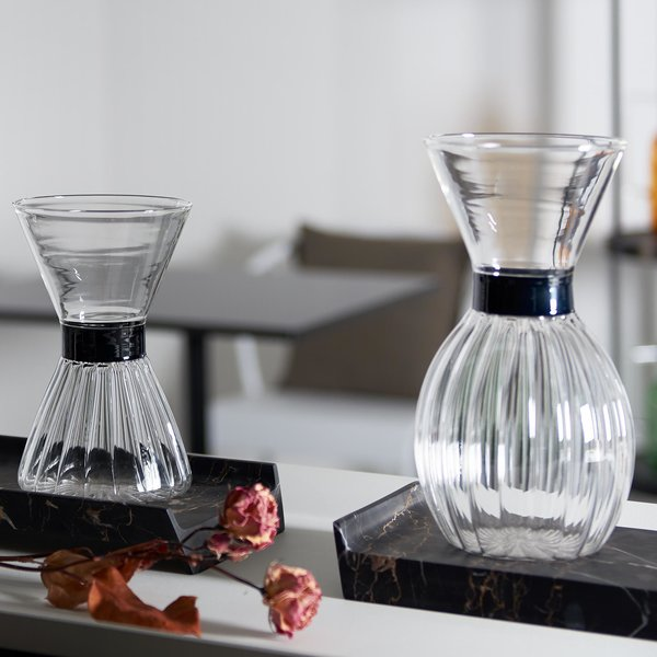 """Miuccia"" Blown-glass carafe"