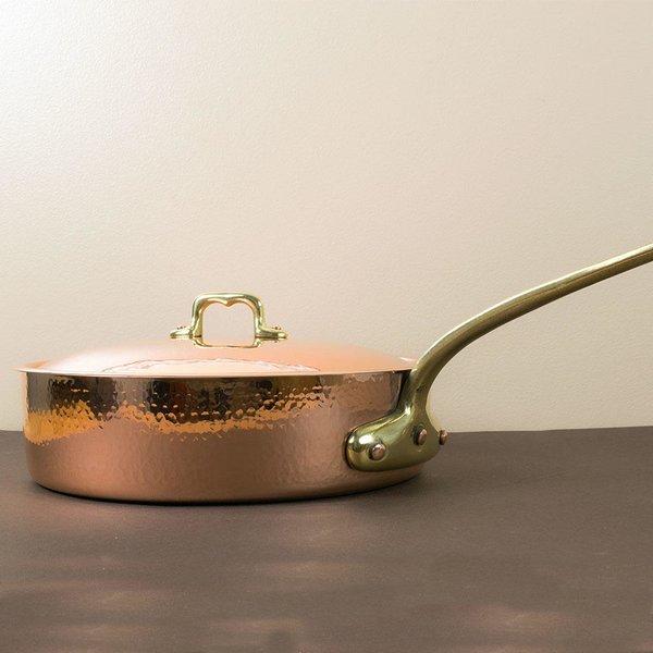 Navarini Copper Saucepan with Lid