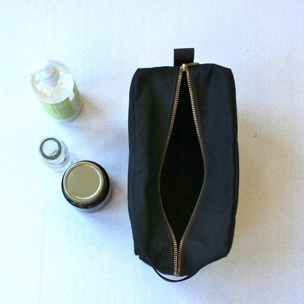 Waxed Canvas Dopp Kit Shaving Bag