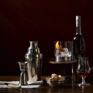 Italian Pewter Cocktail Shaker