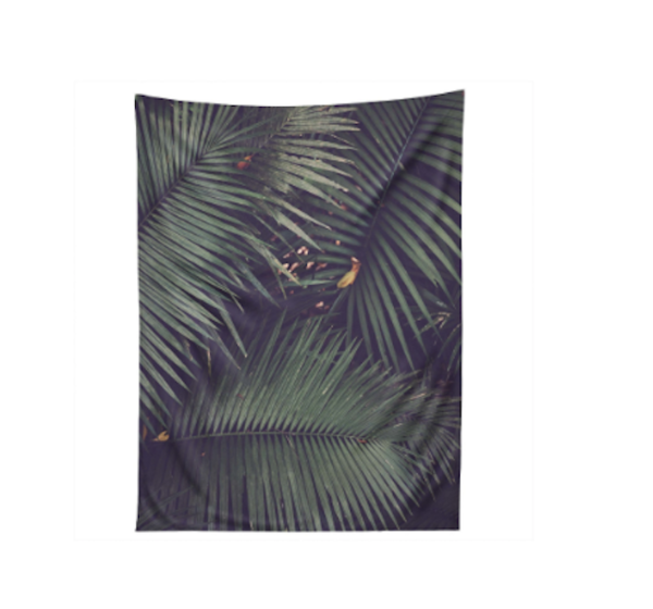 Rainforest Floor Tapestry by East Urban Home