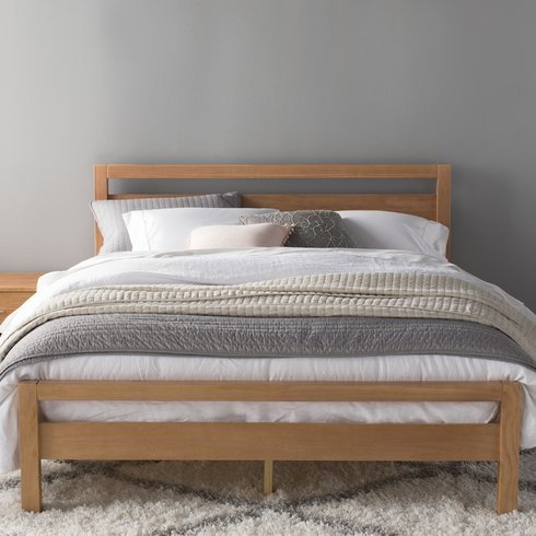Loft platform bed Furniture Grain Wood Loft Platform Bed Plandecreditoinfo Grain Wood Loft Platform Bed By Wayfair Dwell