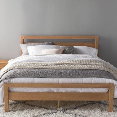 Grain Wood Loft Platform Bed