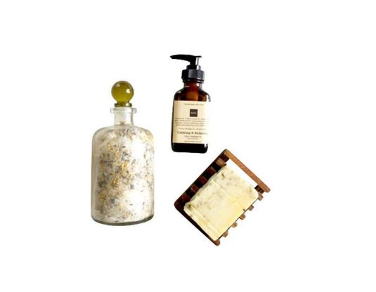 Lavender Bath & Body Gift Set by KayaSoaps