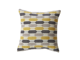 Canyon Creek Hexagon Throw Pillow