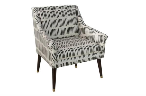 Dash Black Carson Chair