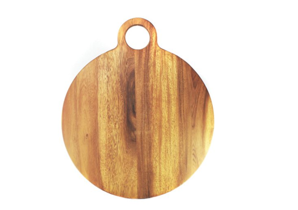 Extra Large Round Acacia Board