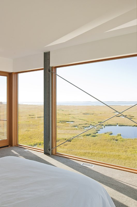 Windows, Picture Window Type, and Wood  Marsh House by McInturff Architects
