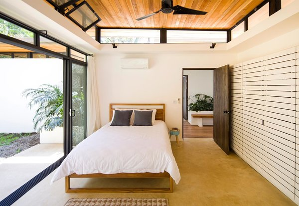 Bedroom, Bed, and Ceiling Lighting  Nalu by Studio Saxe