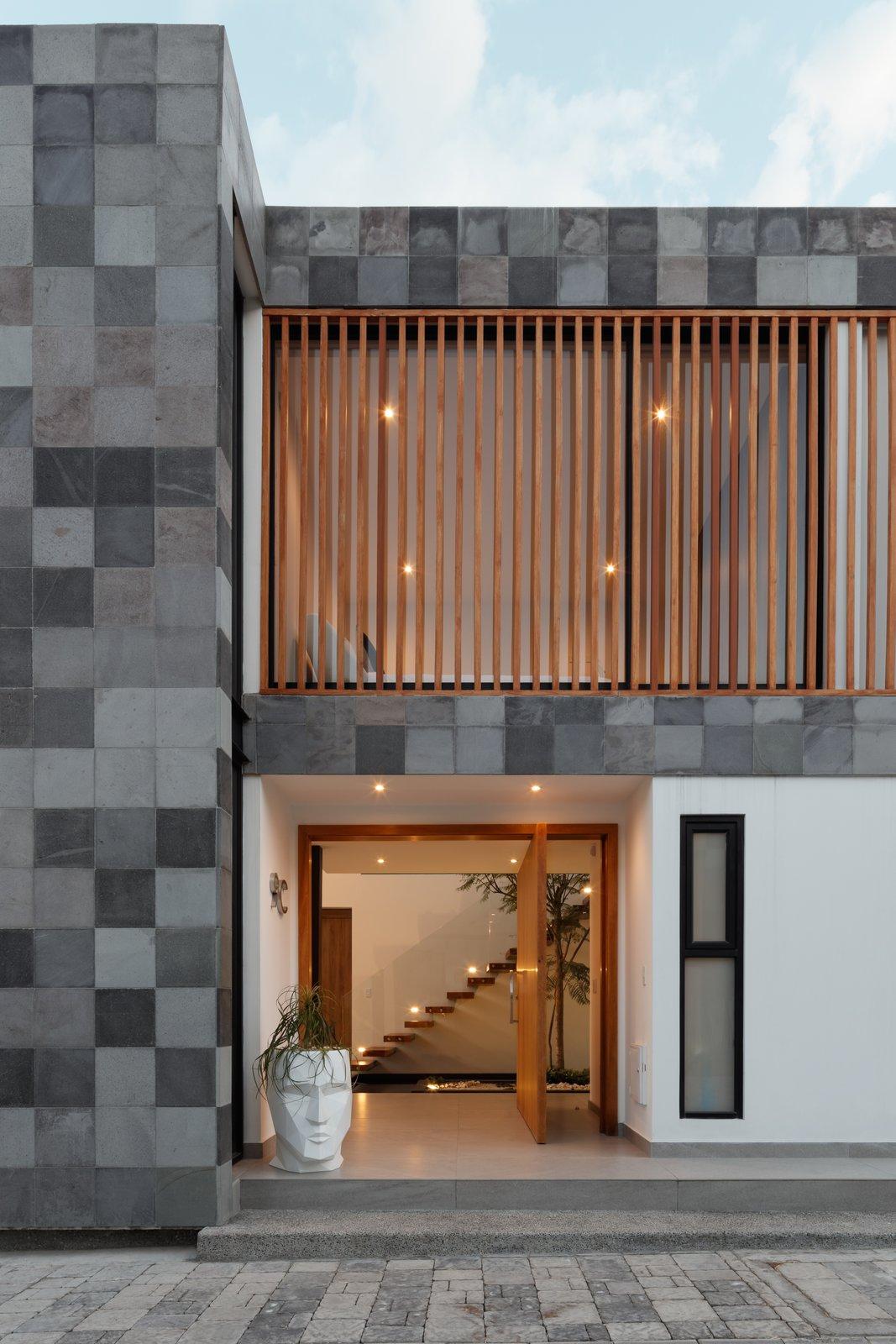Exterior  KB house by TEC Taller EC