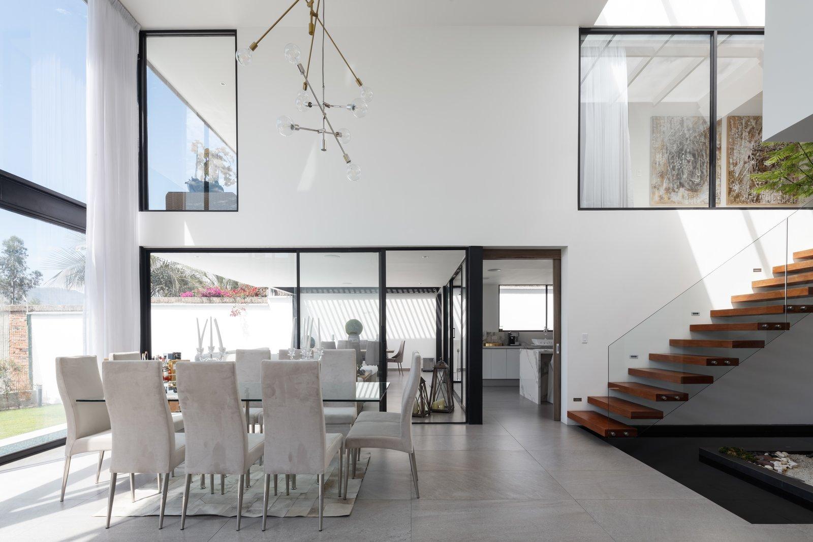Dining Room  KB house by TEC Taller EC