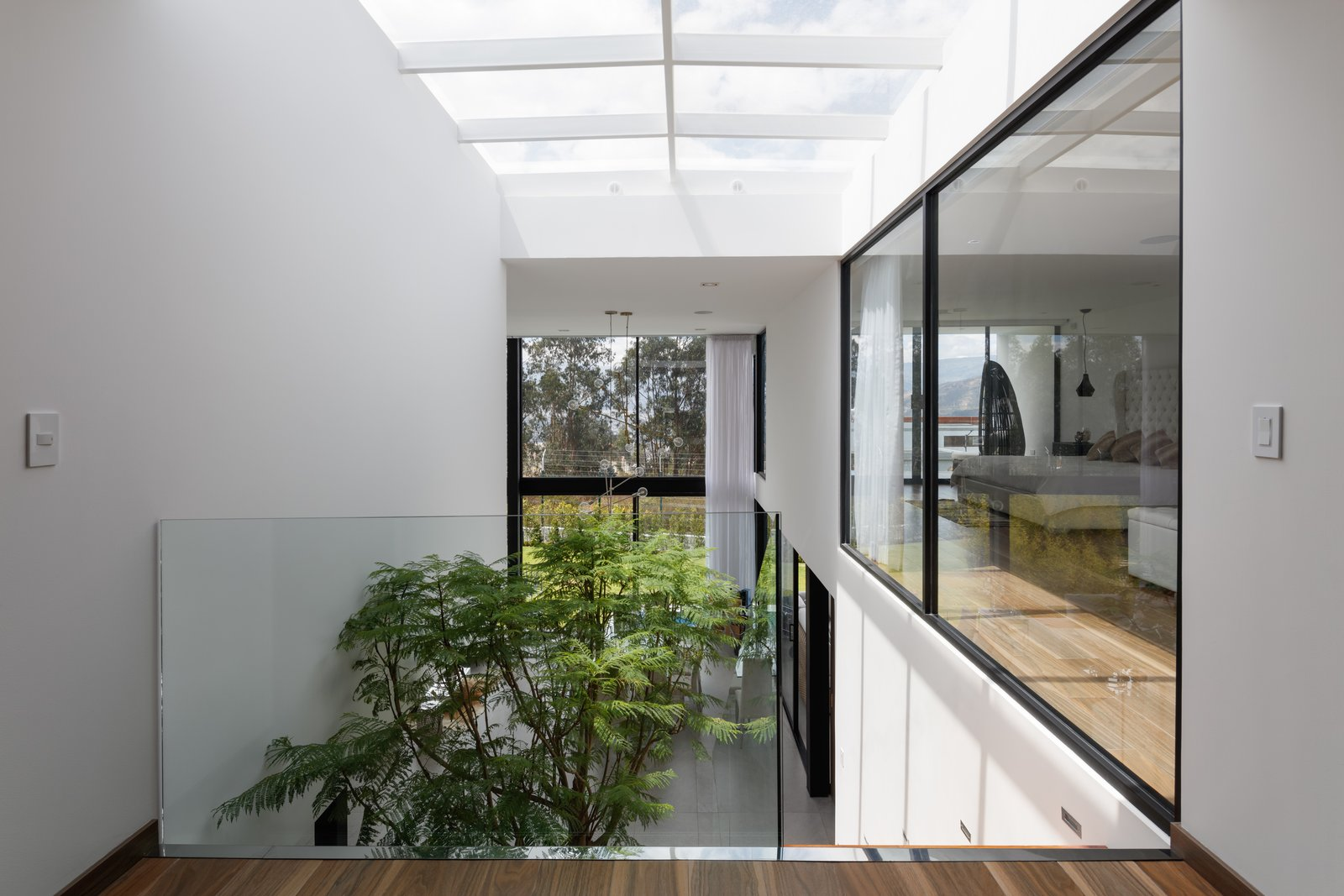 Staircase  KB house by TEC Taller EC