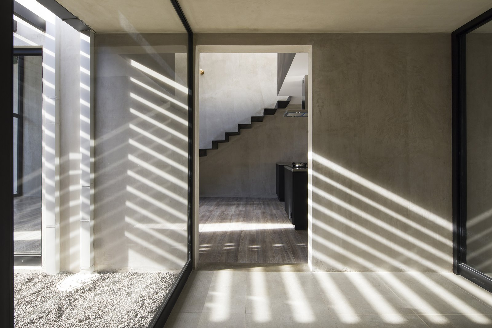 Tagged: Hallway and Porcelain Tile Floor.  Casa Ching by MG design studio