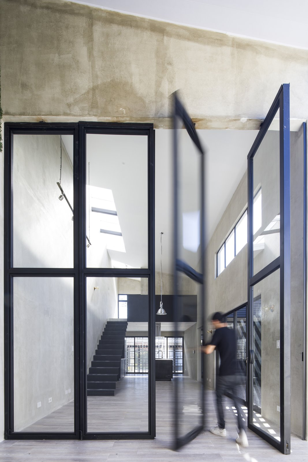 Interior, Metal, Swing Door Type, and Outdoor  Casa Ching by MG design studio