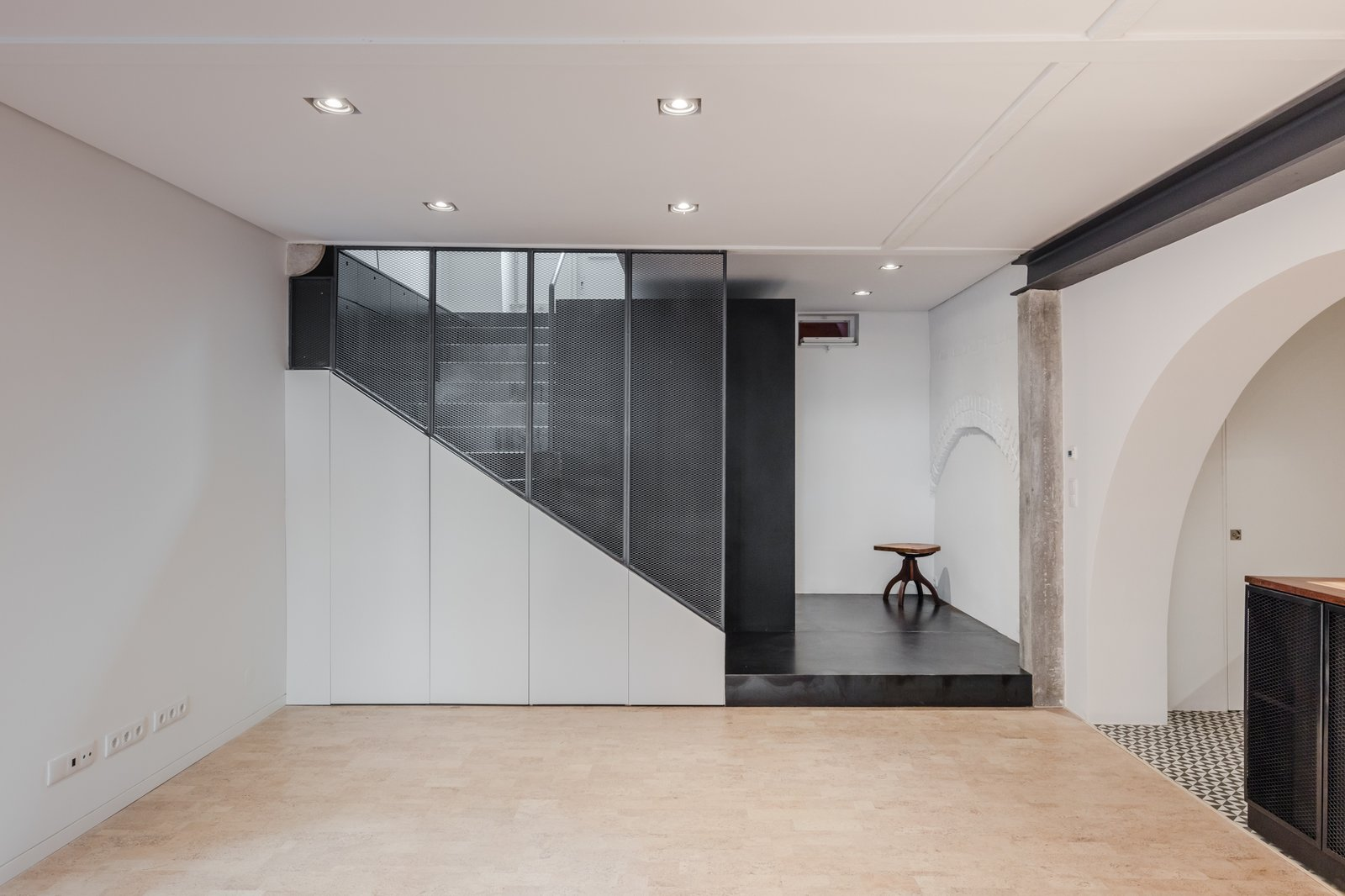 Storage Room and Under Stairs Storage Type  Rua Maria Loft