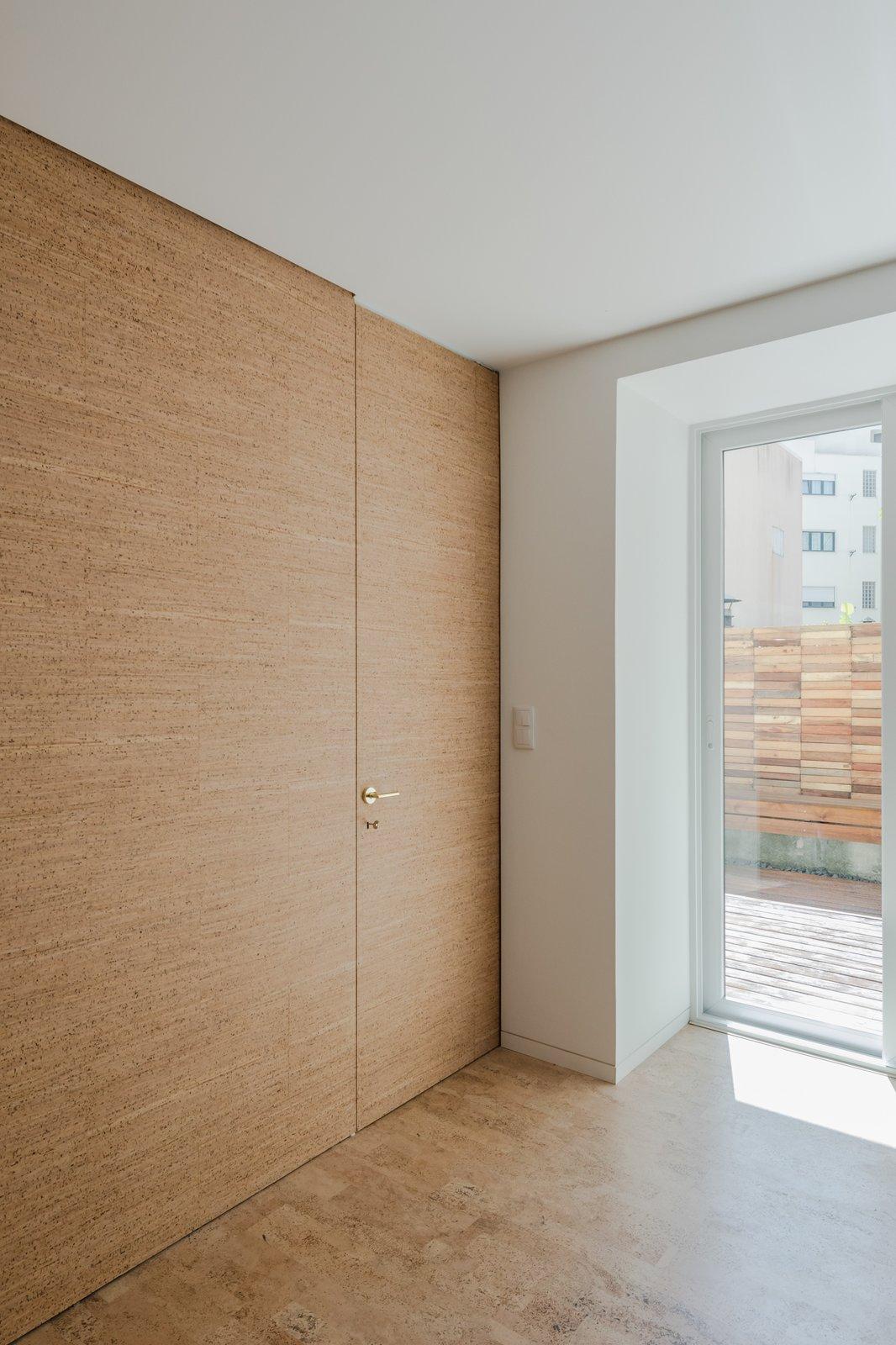 Living Room, Cork Floor, and Ceiling Lighting  Rua Maria Loft