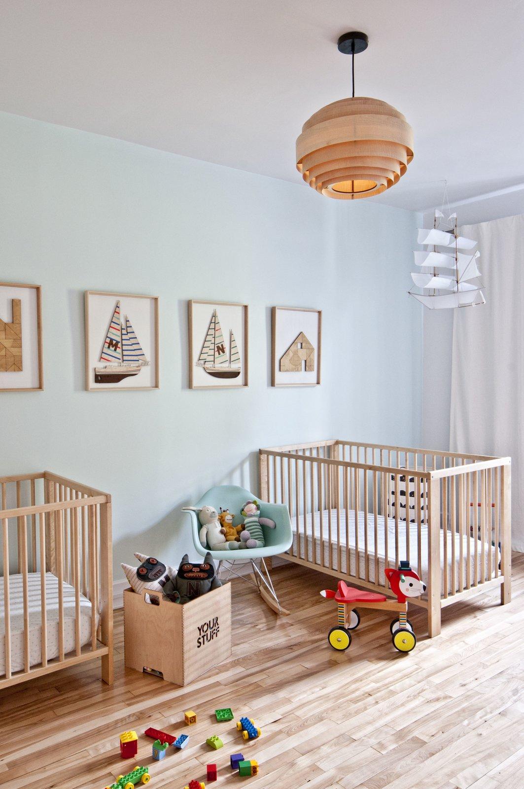 Kids Room, Light Hardwood Floor, Bedroom Room Type, Bed, Toddler Age, and Neutral Gender  Fabre Residence