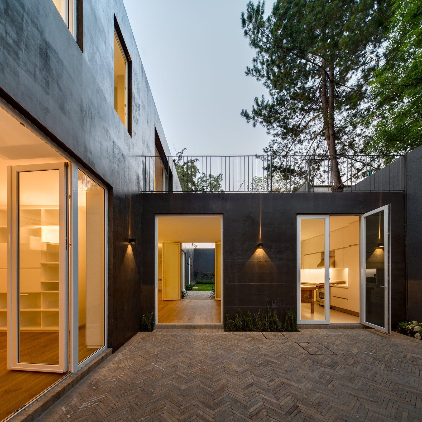 Doors, Exterior, and Swing Door Type  Casa Campestre 107 by DCPP