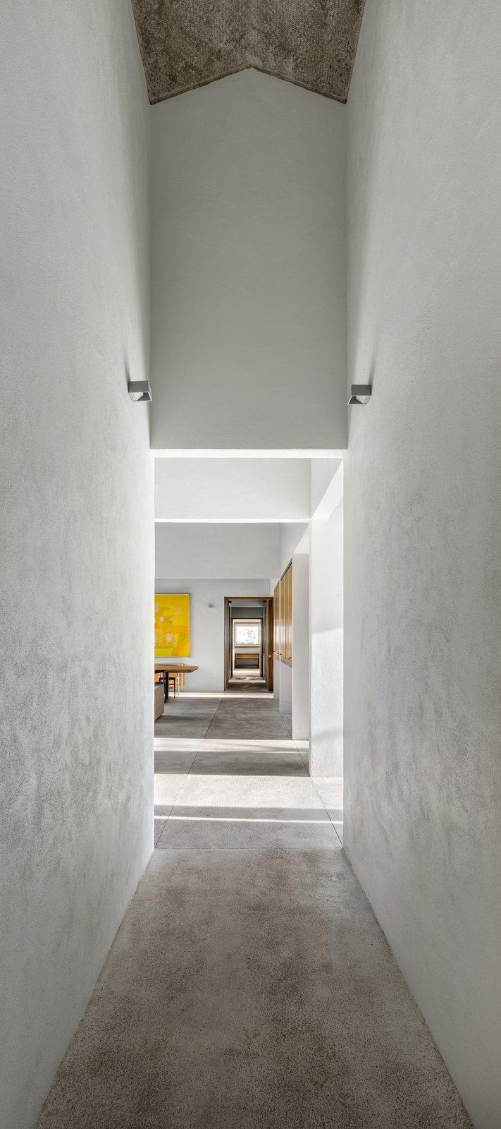 Hallway and Limestone Floor  Casa Paraíso Country Club by DCPP