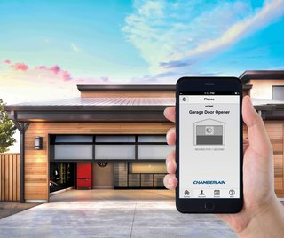 With a MyQ Smart Garage Hub you can see if your garage door is open or closed on your smartphone.