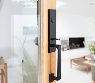 Is it smart or stylish? Emtek now lets you have both in your door hardware.