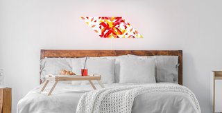 Design your own lighting fixture with LaMetric's Sky mosaic light panels.