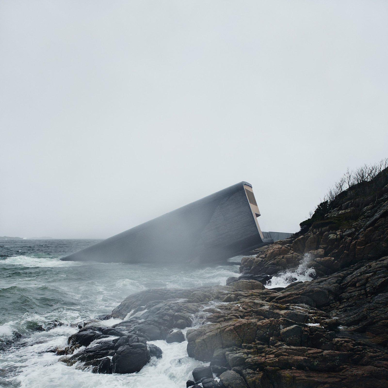 Snøhetta's New Underwater Restaurant in Norway Is Seriously Epic
