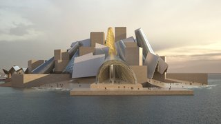 Frank Gehry's Guggenheim Abu Dhabi Set to Break Ground