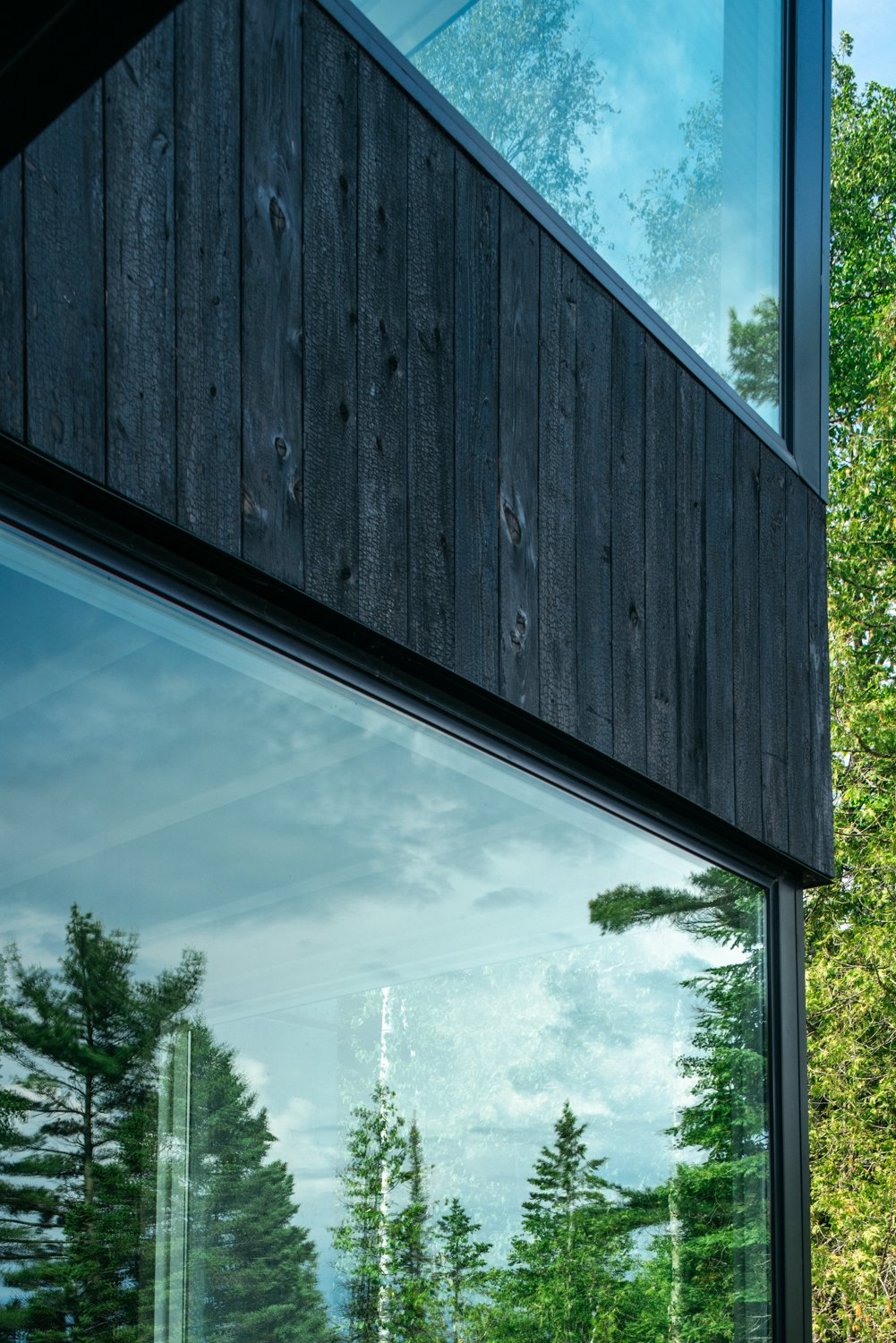 Exterior, House Building Type, and Wood Siding Material  Camp MINOH