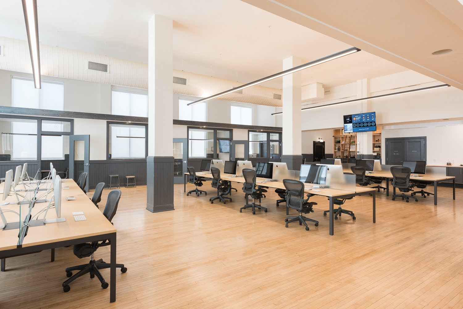 Photo 10 of 16 in A Historic U.S. Post Office Is Transformed Into a Digital Agency's New Modern Office
