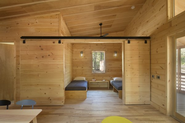 A Long Island Campground Gets a Bunch of New Modern Cabins - Photo 5 of 6 -