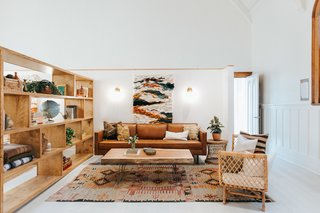 Designers Sara and Rich Combs of The Joshua Tree House brought The Assembly to life with a soothing neutral color scheme and quirky vintage furnishings and decor.