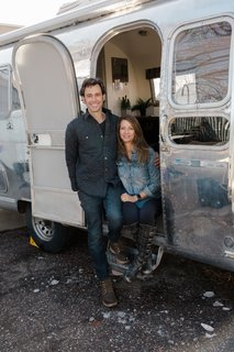 Colorado Caravan's Patrick Neely and Kerri Cole renovate vintage Airstream trailers.