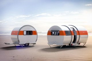 This New Camper Triples in Size With the Push of a Button