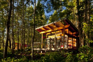 This Group of Off-Grid Cabins in British Columbia Looks Out on Beautiful Ocean Views