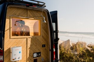 Missing the Spa? This Converted Mercedes Sprinter Can Bring the Sauna to Your Doorstep