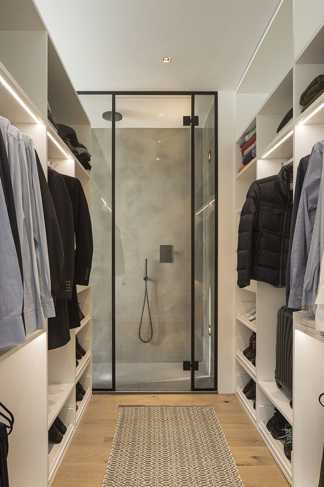 Storage Room and Closet Storage Type  Black to Light by Susanna Cots
