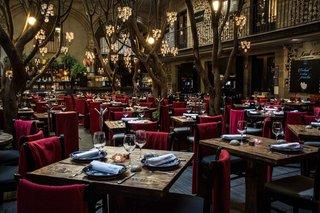Romantic dining at Azul Historico.