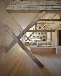 Alpine Barn apartment in Bohinj, Slovenia.