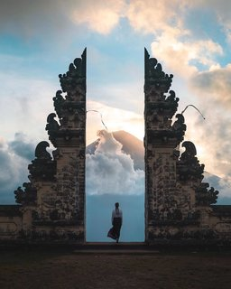 Magic in Bali, Indonesia.