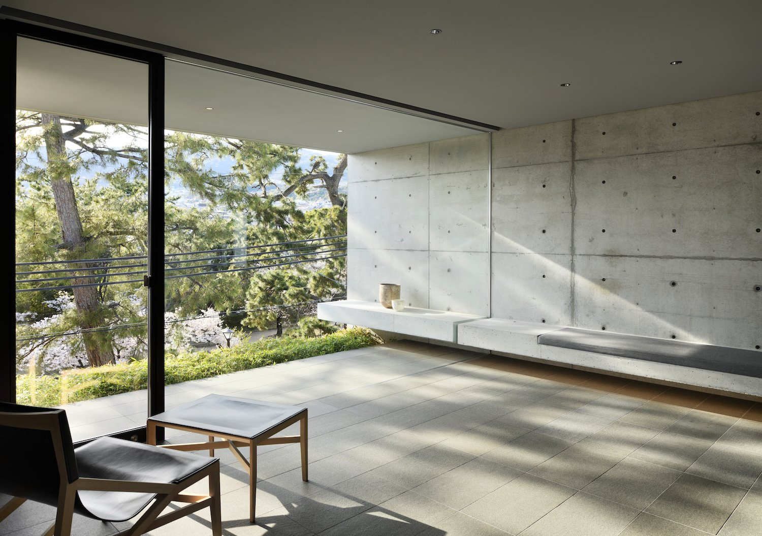 Photo 1 of 12 in This Japanese Architect's Live/Work Space Embodies Quiet Reflection